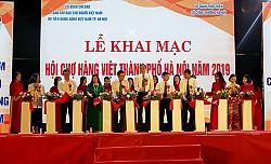 Khai mạc Hội chợ hàng Việt TP Hà Nội năm 2019