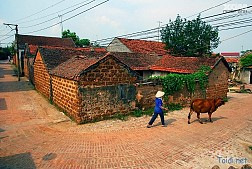 Di tích Làng cổ ở Đường Lâm